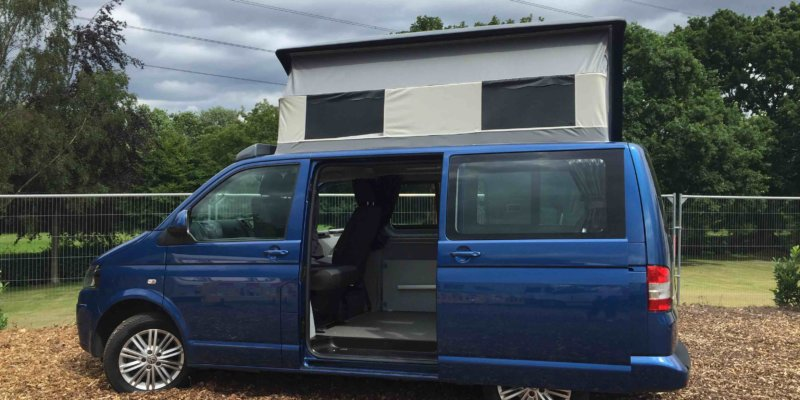 Volkswagen camping van for hire